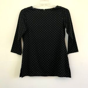 ColdWater Creek Polka Dot Shirt